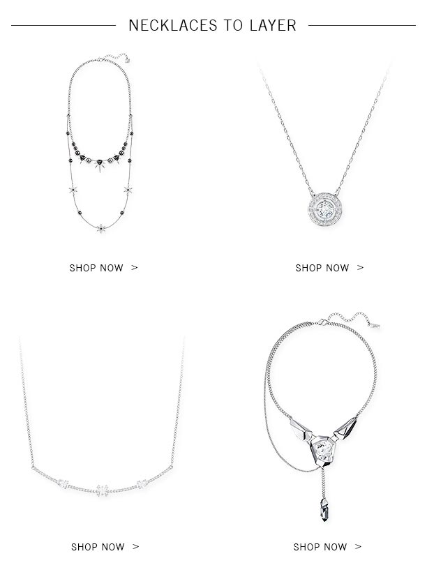 Necklaces to layer