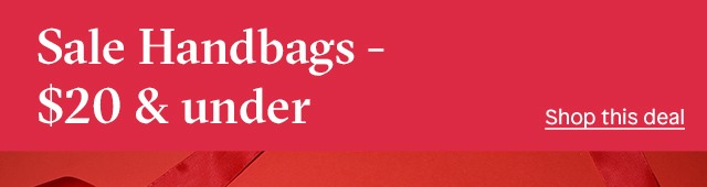 $20 sale handbags sub
