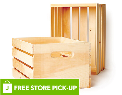 Wood Crate.