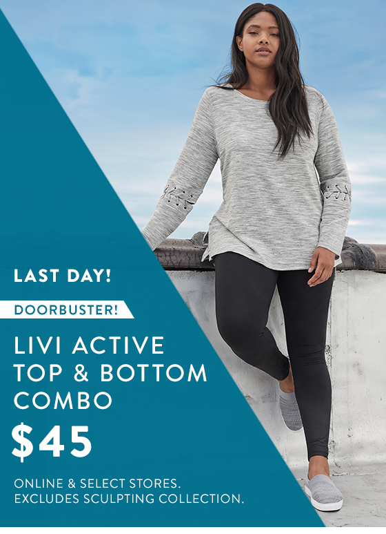 77befd3dafc Lane Bryant  Hurry!  45 LIVI outfit! Last day!