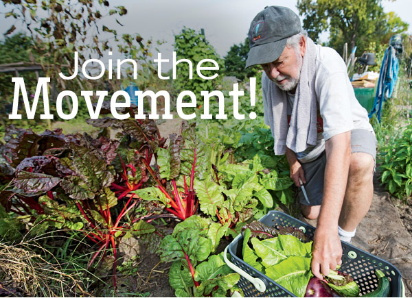 Gardener\'s Supply Company: Garden to Give — Join the Movement! | Milled