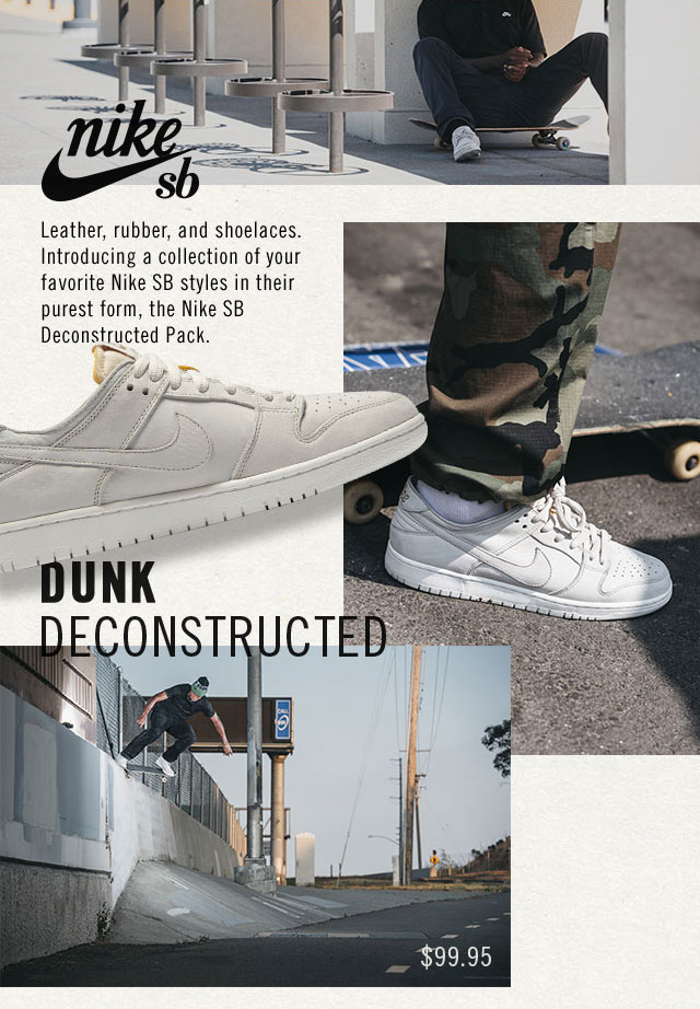 pretty nice b8453 f6a4a CCS: Just The Essentials: Nike SB's Deconstructed Pack | Milled