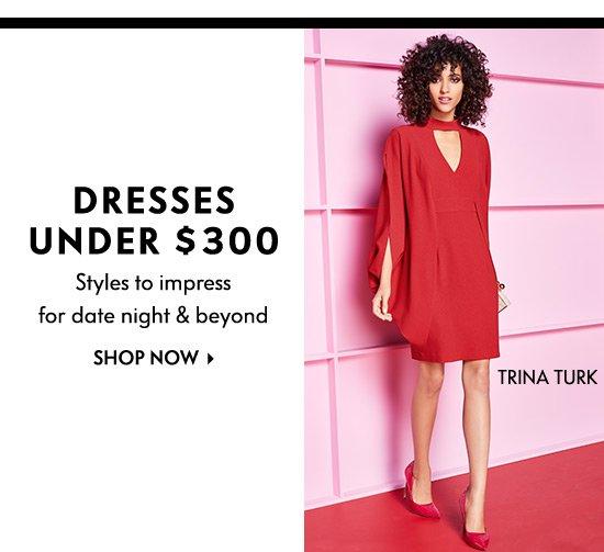 Dresses Under $300
