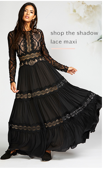 Shadow Lace Maxi