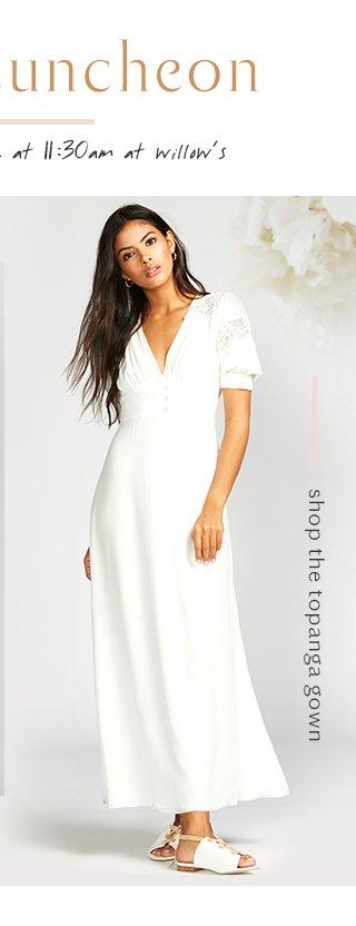 Topanga Gown
