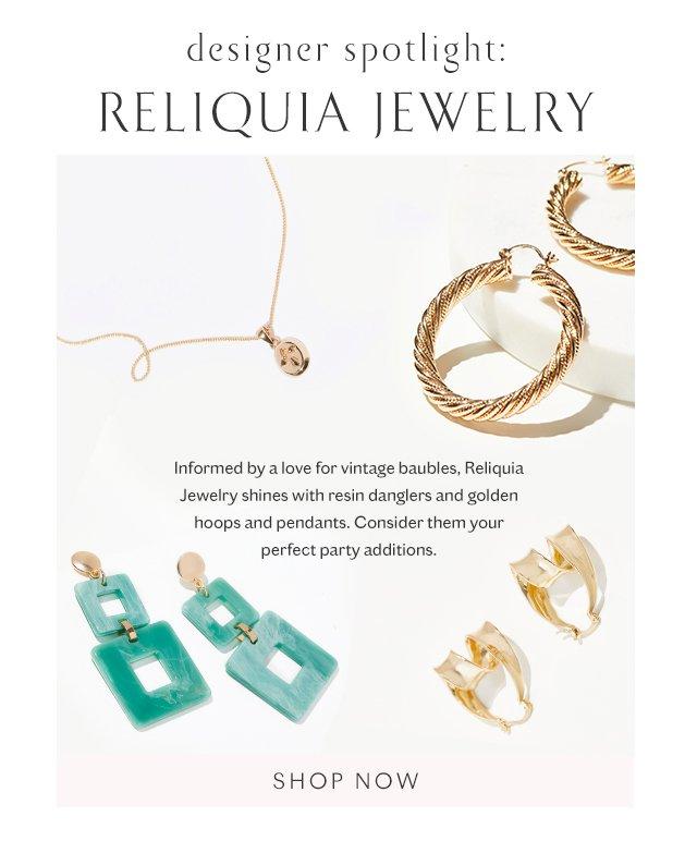 Shop Reliquia Jewelery