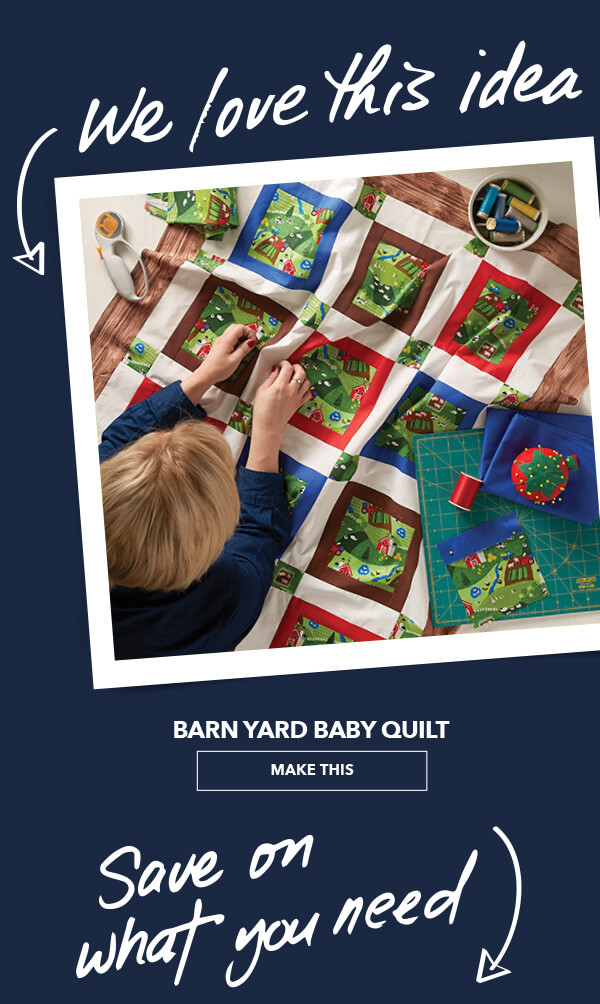 We Love This Idea! Barn Yard Baby Quilt. MAKE THIS.