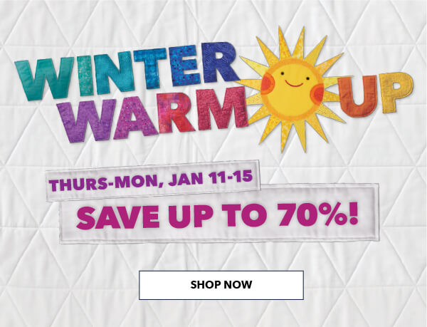 Winter Warm Up. Save up to 70%. SHOP ALL.