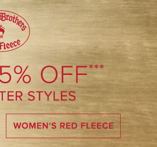 WOMEN'S RED FLEECE