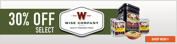 30% Off Select Wise Foods