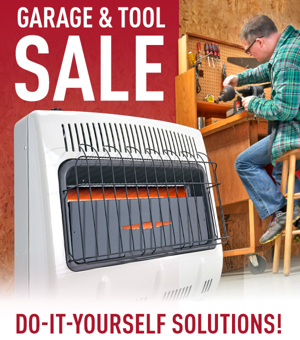 Garage & Tool Sale - Do-It Yourself Solutions!