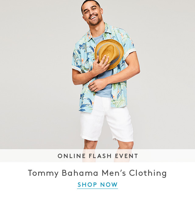 Online Flash Event | Tommy Bahama Men's Clothing | Shop Now