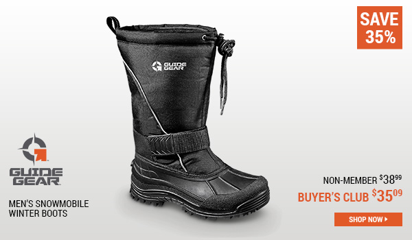 Guide Gear Men's Snowmobile Winter Boots