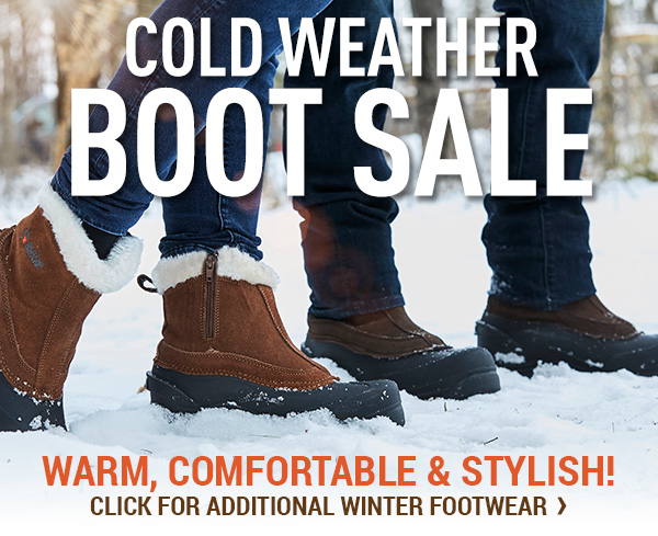 Cold Weather Boot Sale