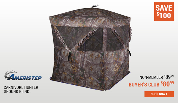 Ameristep Carnivore Hunter Ground Blind