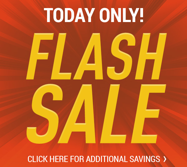 Flash Sale - Today Only!
