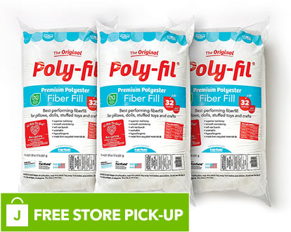 Poly-Fil 32 Oz Fiberfill. FREE Store Pick-Up.