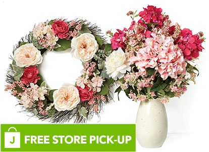 Spring Floral and Containers. FREE Store Pick-Up.
