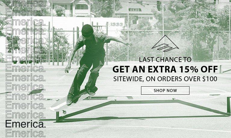 Get An EXTRA 15% OFF!