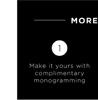 Complementary monogramming