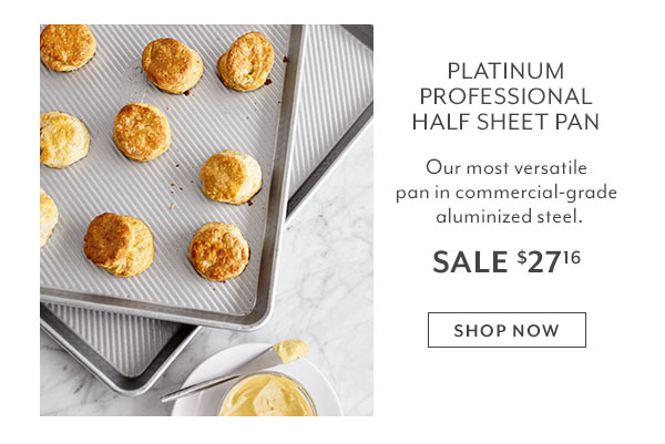 Platinum Professional Half Sheet Pan