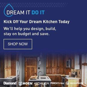 Kick Off Your Dream Kitchen Today. We'll help you design, build, stay on budget and save.