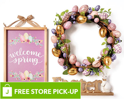 Easter Decor. FREE In-Store Pick-Up.