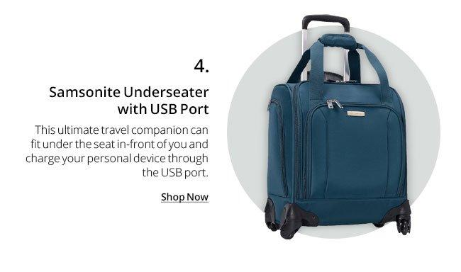 Samsonite Underseater with USB Port