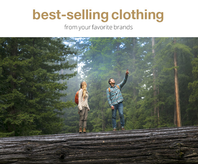 Best-Selling Clothing from your favorite brands