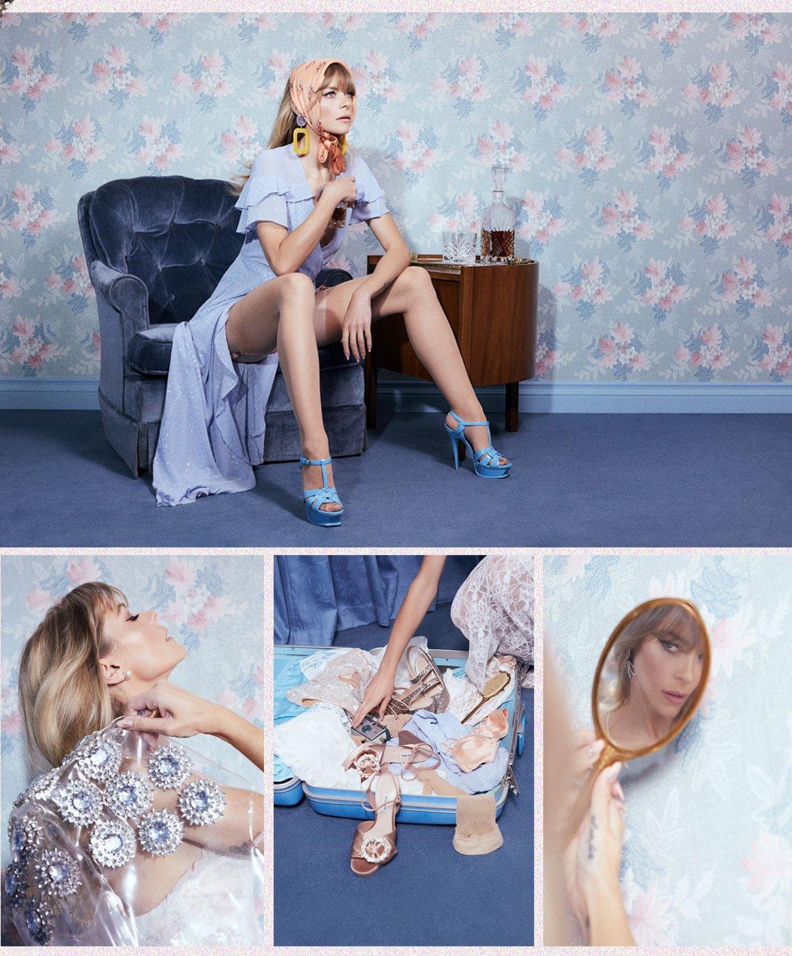 La Simone Wrap Dress