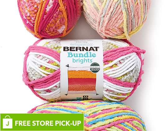 Bernat Blanket and Baby Blanket Yarn.