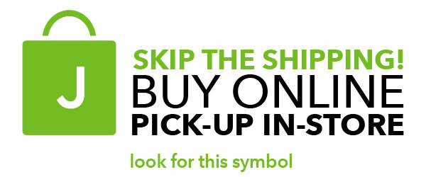 Buy online. Pickup in-store.