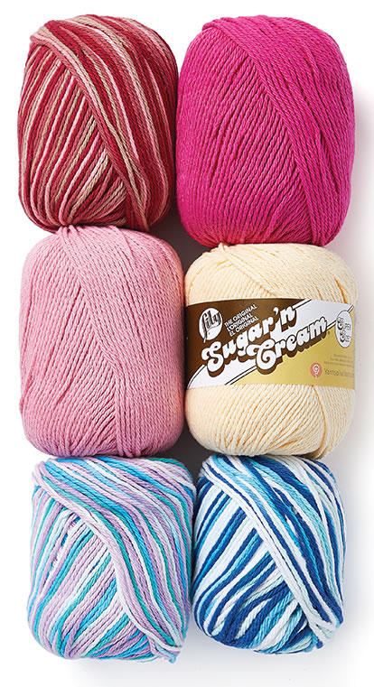Lily Sugarn Cream Super Size? Yarn.