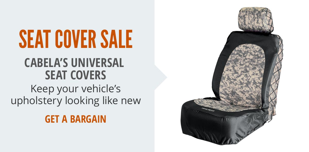 Save Up To 25% on Cabela's Universal Seat Covers