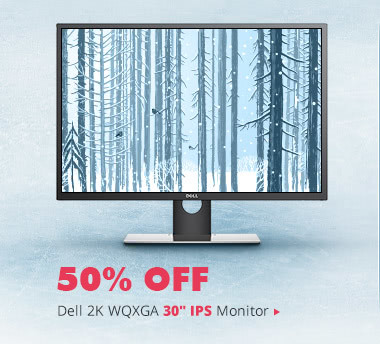 "Dell 2K WQXGA 30"" IPS Monitor"