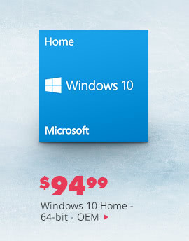 Windows 10 Home 64bit - OEM
