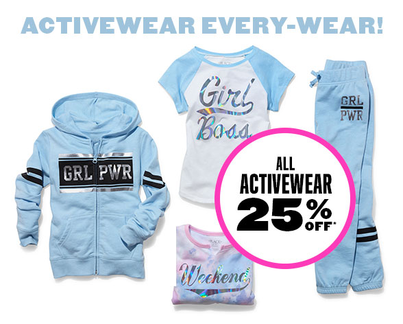 All Activewear 25% Off