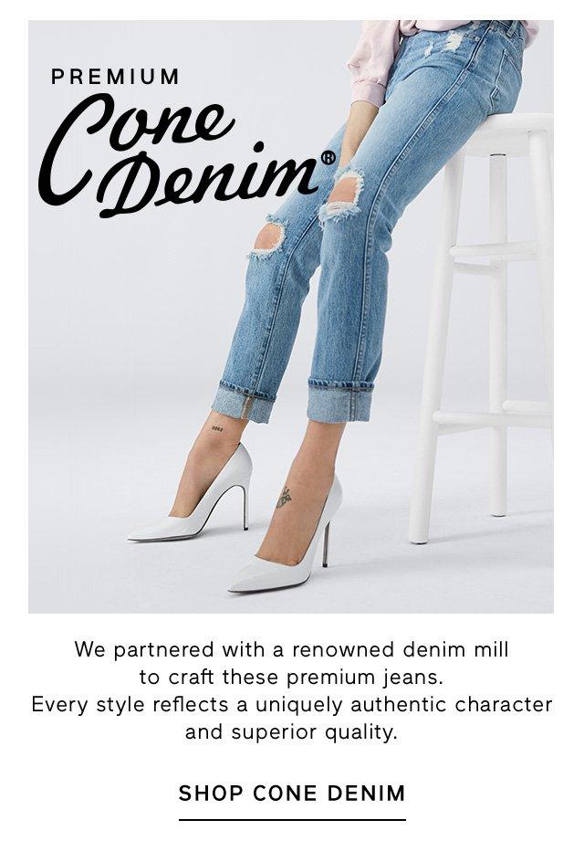 PREMIUM Cone Denim | SHOP CONE DENIM