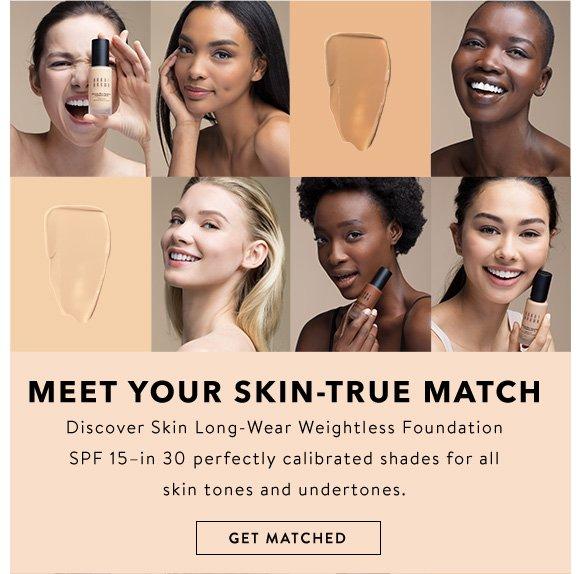 Bobbi Brown Meet Your Match Shop 30 Shades Of New Skin Long Wear