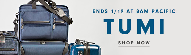 Ends 1/19 at 8am Pacific | TUMI | Shop Now