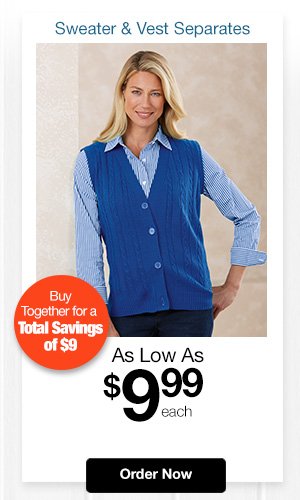 Striped Shirt & Vest Weekly Deal
