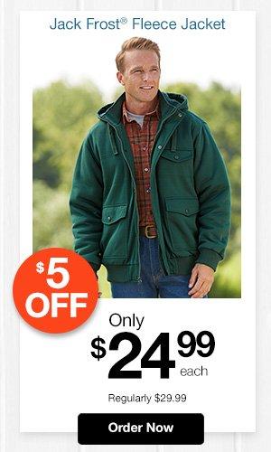 Jack Frost Fleece Jacket