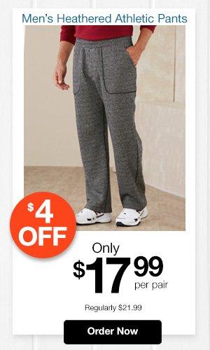 Active Joe Heathered Athletic Pants