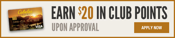 Earn $25 in CLUB POINTS Upon approval - apply today