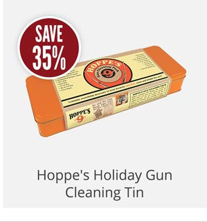 Hoppe's Holiday Gun Cleaning Tin
