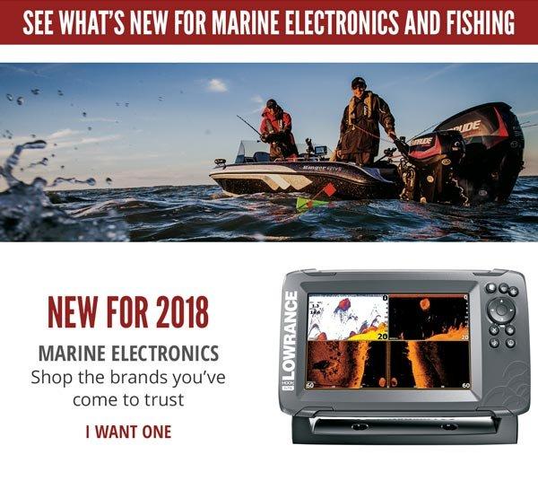 New Marine Electronics for 2018