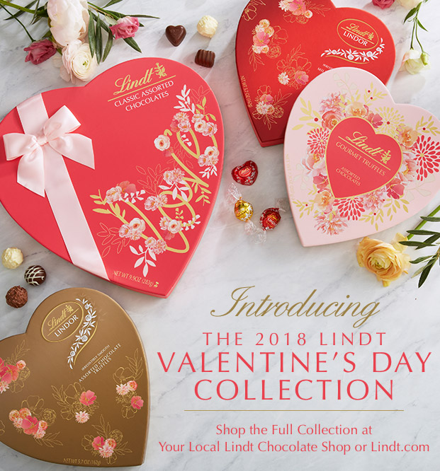 Lindt Chocolate Introducing The 2018 Lindt Valentine S Collection