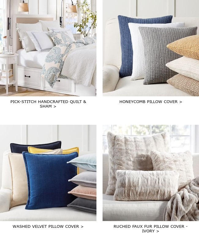 Pottery Barn ✉ Let us make your day – are you still interested