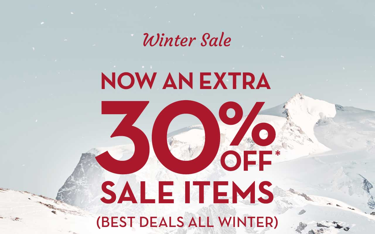 Winter Sale Now An Extra 30% Off* Sale Items (Best Deals All Winter)