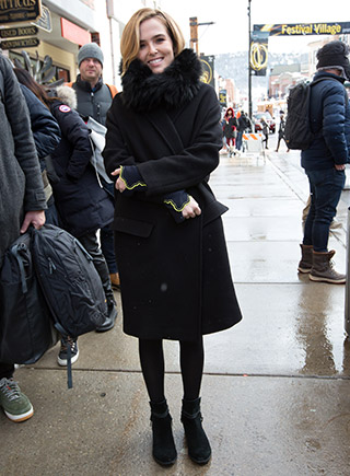 Liv Tyler in SOREL boots.